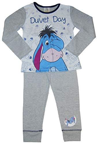 Disney Character Girls Eeyore Pyjamas Duvet Day Older Sizes (9-10 Years, Eeyore Duvet Day)