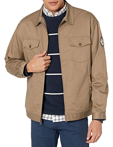 Quiksilver Herren SNAPY ON THE ROCKS JACKET Jacke, Caribou, Large