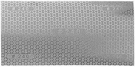 WOVELOT 240 diamant schuurpapier gecoat honingraat vervanger schuurpapier