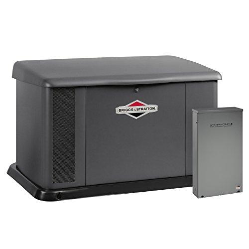 Briggs & Stratton 40396 20000-Watt Home Standby Generator System with Dual 200 Amp/Split 400 Amp...