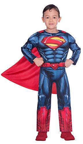 Disfraz de superman clásico para niño (edad 4-6 años)