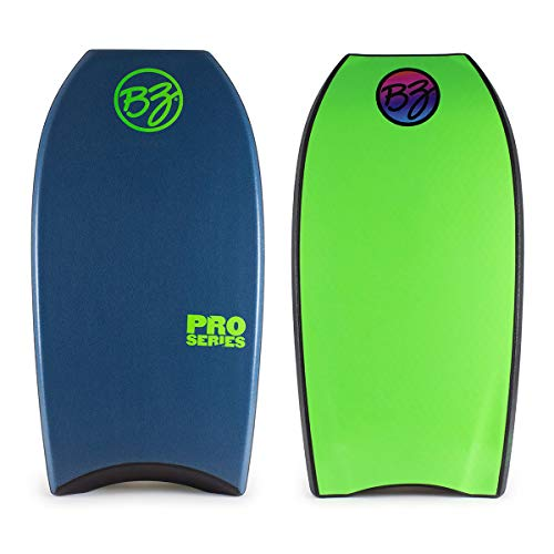 BZ Pro 40″ 41″ & 42″ Bodyboard with Crescent Tail, Tail Piece, Slick Bulbs
