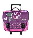 Bagtrotter LILNI18PURE Lililou Chariot d'école Violet 38 x 14 x 33 cm