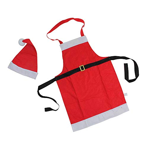 2-Piece Red and White Santa Claus