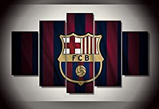 Barcelona fc wall poster picture canvas 5 pieces
