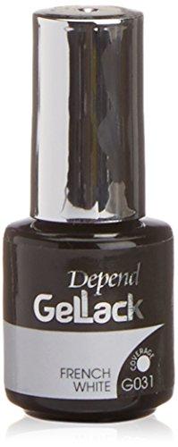 Depend GelLack - Esmalte permanente, tono blanco