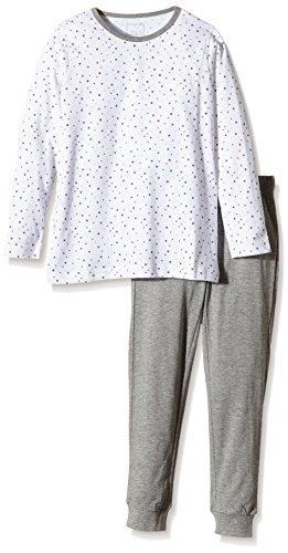 NAME IT NAME IT Baby-Mädchen NITNIGHTSET K G NOOS Zweiteiliger Schlafanzug, Mehrfarbig (Bright White), 110