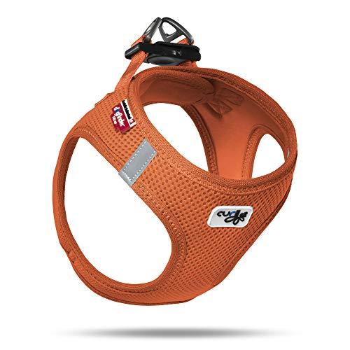 curli Geschirr Vest Air-Mesh, orange, S