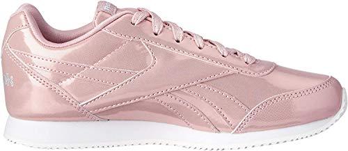 Reebok Royal Cljog 2, Damen Traillaufschuhe, Mehrfarbig (Metallic / Pink / White 000), 36.5 EU