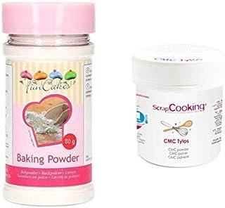 CMC Tylos Edible Glue 35 g + Baking Powder 80 g
