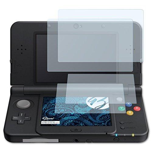 Bruni Protecteur d'écran pour Nintendo New 3DS 2015 Film Protecteur, cristal clair Écran protecteur (Set de 2)