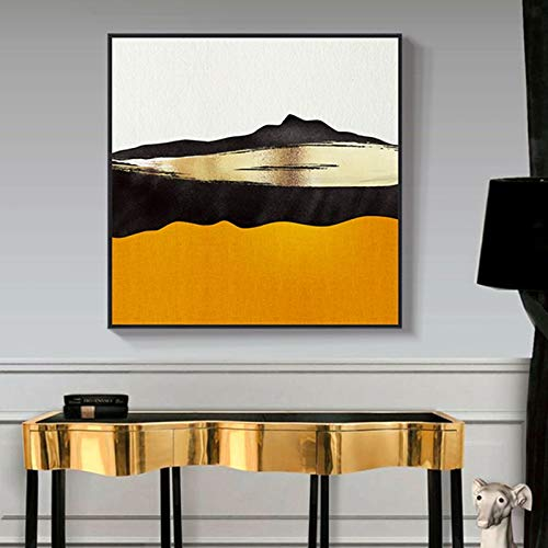 Moderne abstrakte ölgemälde leinwand Kunst Geschenk Dekoration Wohnzimmer wandkunst rahmenlose malerei 70X70 cm