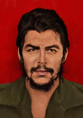 koushuiwa Impresión De Lienzo Cartel De Arte De Pared Che Guevara Paredes Modernas Decoración Imagen Obras De Arte Sin Marco A148 20X30Inch(50X75Cm)