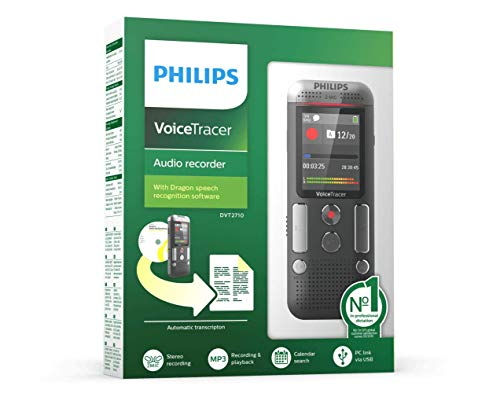 Philips Voice Tracer DVT2710 with Speech Recognition Software