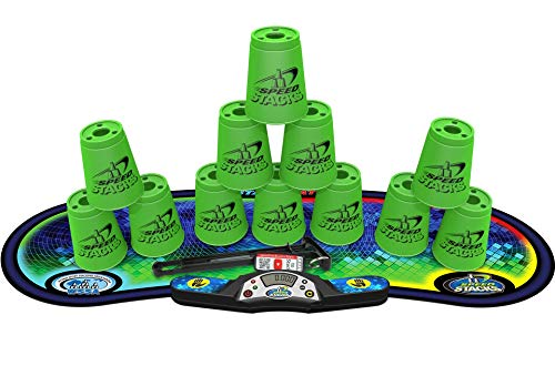 Sport Stacking  Competitor  Neon Green Cup Stacking