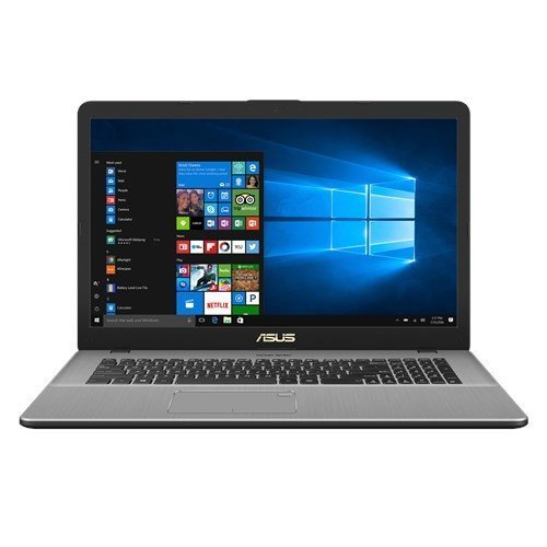 Asus VivoBook N705UD-GC078T Notebook, Display da 17.3', Processore I7-8550U, 1.8 GHz, SSD da 128 GB e HDD da 1000 GB, 16 GB di RAM, nVidia GeForce GTX 1050, Dark Metal Grey [Layout Italiano]