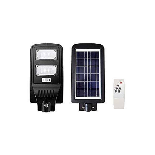 TEMPO DI SALDI Lampione Stradale A Led Da 60W Pannello Solare Con Telecomando IP65