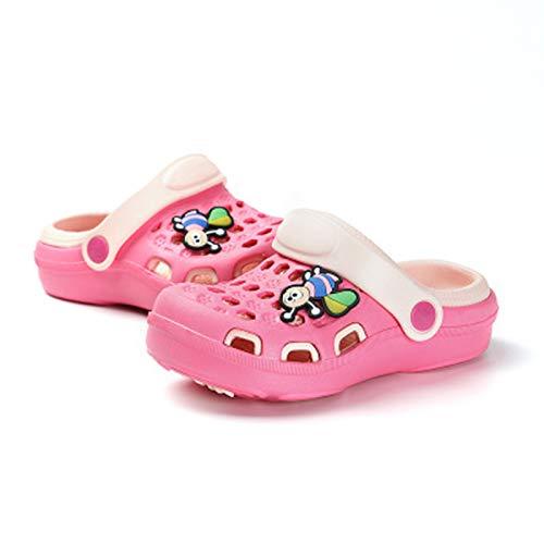 Bebé Niño Zuecos Y Mules Sandalias Y Pantuflas para Bebé Zapatos De Playa para Niños Y Niñas,Rosado,24
