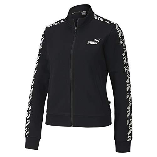 PUMA Damen Trainingsjacke Amplified Track TR, Black, XS, 581219