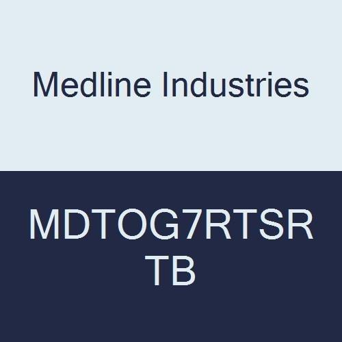 Medline MDTOG7RTSRTB PerforMAX Patient Gowns, 3X-Large, Royale Print Two-Tone Blue (Pack of 12)