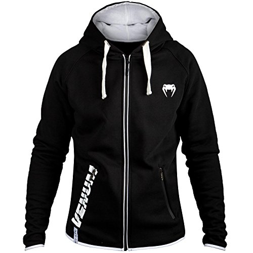 Venum Contender 2.0 Pantalones Cortos de Entrenamiento, Hombre, Negro/Blanco, XL