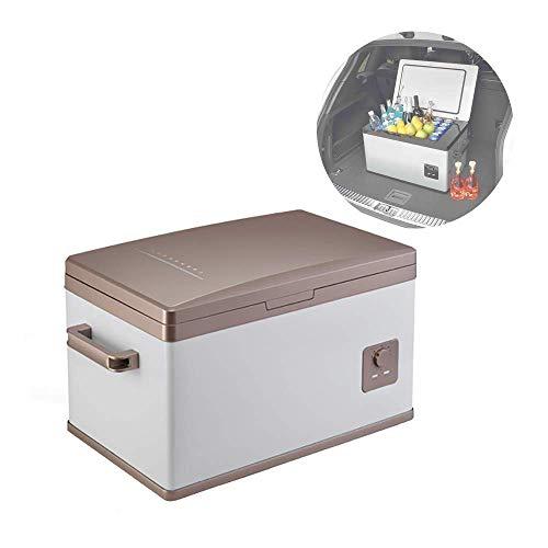 SHKUU Nevera-congelador portátil para Coche con compresor para vehículos, Camiones, vehículos recreativos, Acampar, Viajes, conducción al Aire Libre