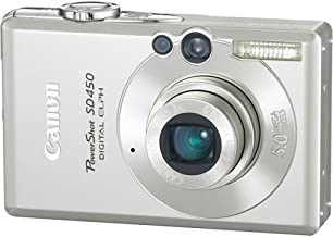 Canon Powershot SD450 5MP Digital Elph Camera with 3x Optical Zoom (OLD MODEL)