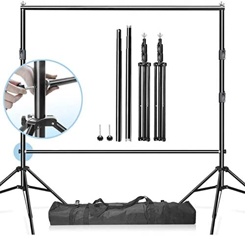 LimoStudio Heavy Duty Backdrop Background Banner Stand Cross Bar 9 5 ft Wide Background Stand product image