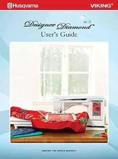 Husqvarna Viking Designer Diamond Sewing Machine User's Guide COLOR Comb Bound Copy Reprint Manual