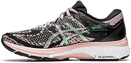 ASICS Women's Gel-Kayano 27 MK Running Shoes, 8M, Black/Ginger Peach