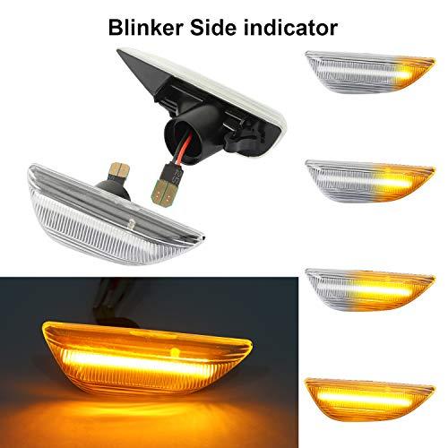 OZ-LAMPE Indicadores laterales dinámicos Luz de señal de