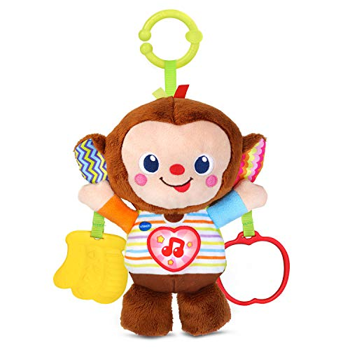 VTech Cuddle and Swing Monkey, Multicolor