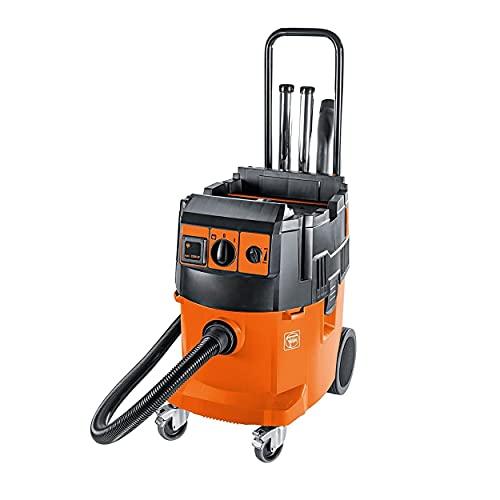 Fein Turbo II X Wet/Dry Dust Extractor - 1380 Watts, 153 CFM Suction Capacity, 98.8' Static Water Lift, 9.3 Gallon - 92029060090