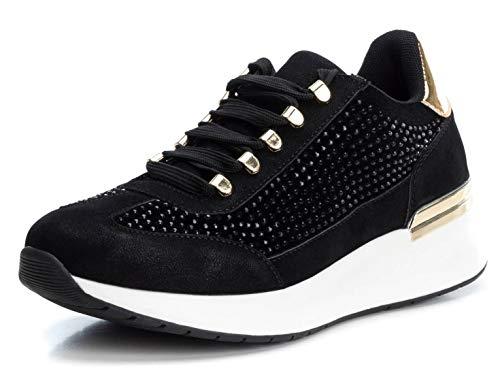 XTI 49506, Zapatillas Mujer, Negro (Negro Negro), 37 EU
