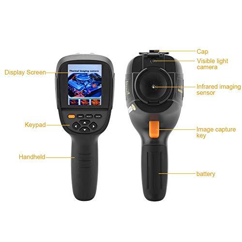 """Akozon HT-19 Termocamera Infrarossi Raggi (IR) Portatile 3,2"""" Display TFT 320 x 240 Risoluzione -20 ° C a 300 ° C Professionale USB Termometro Thermal Imager Dispositivo a Infrarossi Imaging (220V)"""