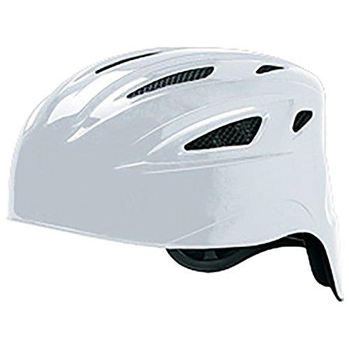 ミズノ(MIZUNO) ソフトボール用ヘルメット(捕手用) 1DJHC301 01 ホワイト S