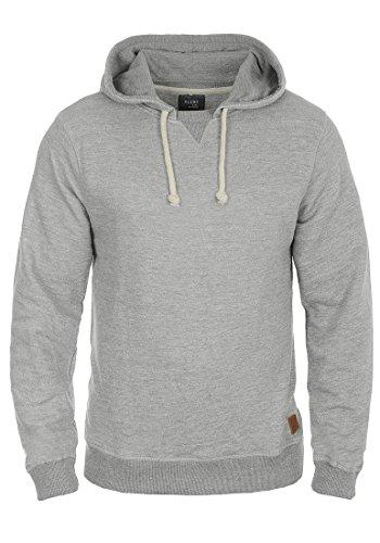Blend Morance Herren Kapuzenpullover Hoodie Pullover Mit Kapuze, Größe:XL, Farbe:Zink Mix (70815)