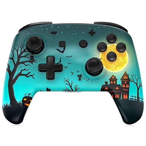 REDSTORM Mando para Nintendo Switch, Gamepad inalámbrico para Switch Lite, Sensor de Movimiento de 6 Ejes, 3 Niveles de Vibración, Función Turbo, Batería Recargable