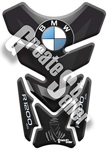 PARASERBATOIO ADESIVO RESINATO EFFETTO 3D compatibile con BMW R 1200 GS DAKAR