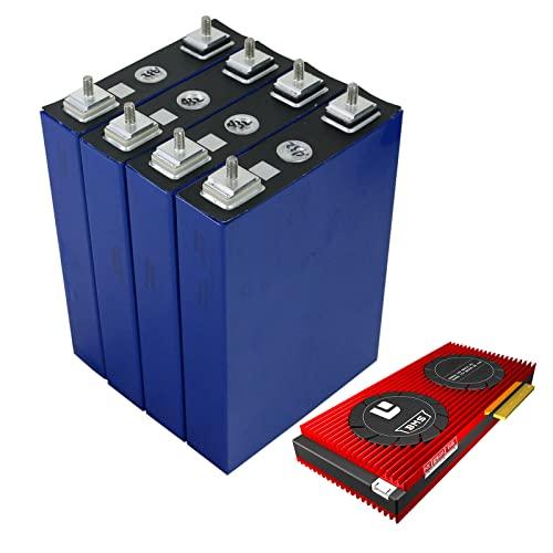LONGRING 3.2 V 100Ah Battery 3.2 V Lifepo4 Battery Pack Large Capacity for DIY 12V 4S Daly BMS Electric Car RV Solar Energy Storage