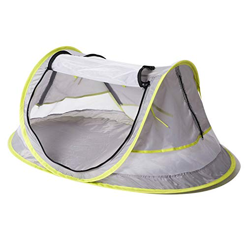 Portable Foldable Pop-up Anti-UV Breathable Beach Travel Sun Shelter Tent Mosquito Net for Infant Baby Toddler Children Kids Outdoor Activities