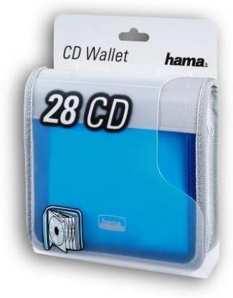 Hama Cd Wallet 96 Blau Silber Computer Zubehör