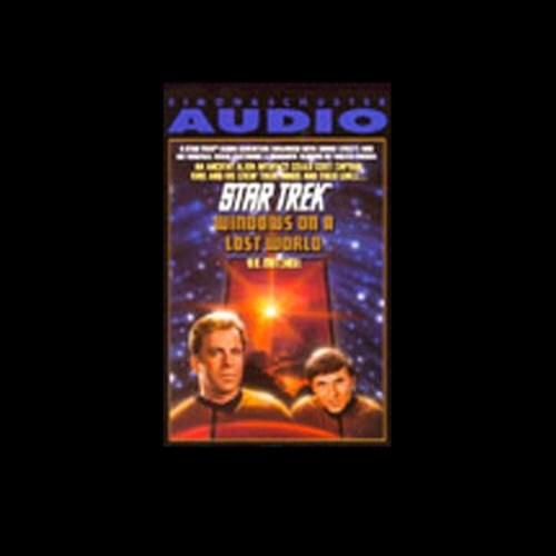 Star Trek: Windows on a Lost World audiobook cover art
