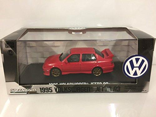 1995 Volkswagen Jetta A3 Red 1/43 Diecast Model Car by Greenlight 86313