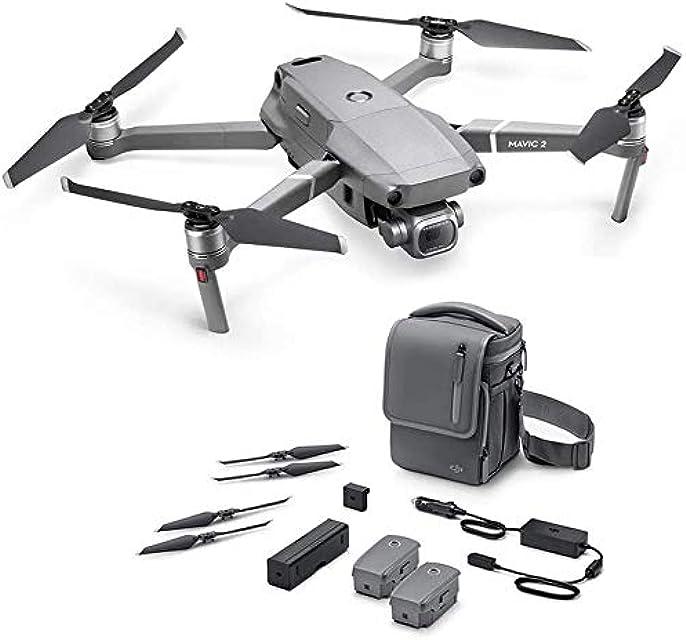 DJI Mavic 2 Pro + Fly More Combo - Dron con cámara Hasselblad y sensor CMOS de 1 y 20 Mpx HDR Video - Versión EU