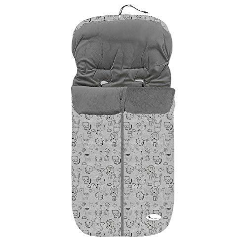 Saco de silla paseo Polar Universal Impermeable polar (animales gris)
