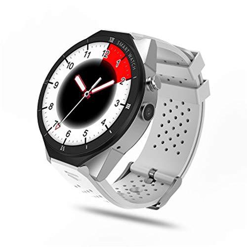 LXZ Outdoor-Fitness-wasserdichte Damen Und Herren-Intelligente Uhren WiFi Android 7.0 Remote-Upgrade-Kamera GPS-Positionierung Pedometer Smartwatch,A