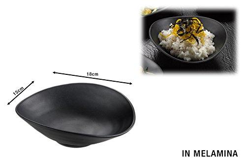 Leone Horeca melamine schaal, zwart, 426.T8201