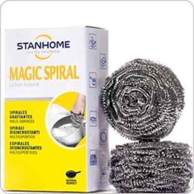 - Stanhome - Magic Spiral. Esponja para limpieza de vajillas