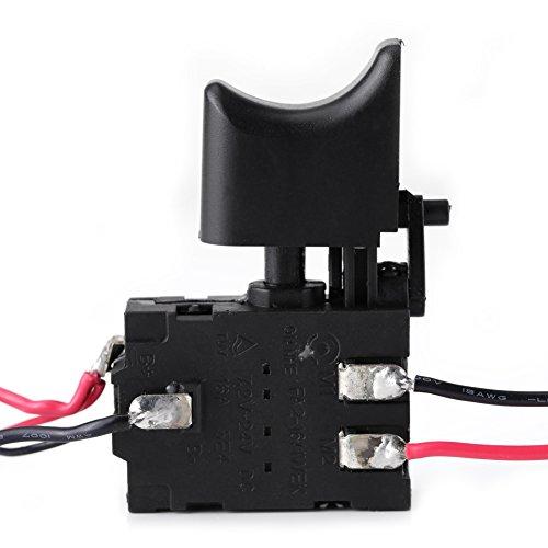 Batteria Al Litio Con Interruttore Grilletto Per Trapano Batteria 12V Con Luce Piccola